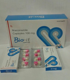 BIO-IT CAPSULE (itraconazole 100 Mg. Capsule)