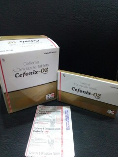 CEFONIX OZ TABLET (Cefixime 200 mg. +Ornidazole 500 mg. )