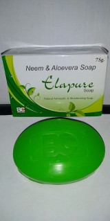 ELAPURE SOAP (NEEM & ALOEVERA SOAP)