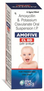 AMOFIVE-CL BD DRY SYRUP